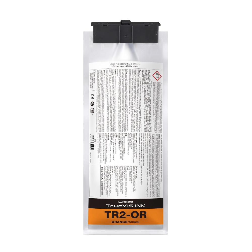 Roland TrueVis TR2 Orange Ink Pouch 500cc