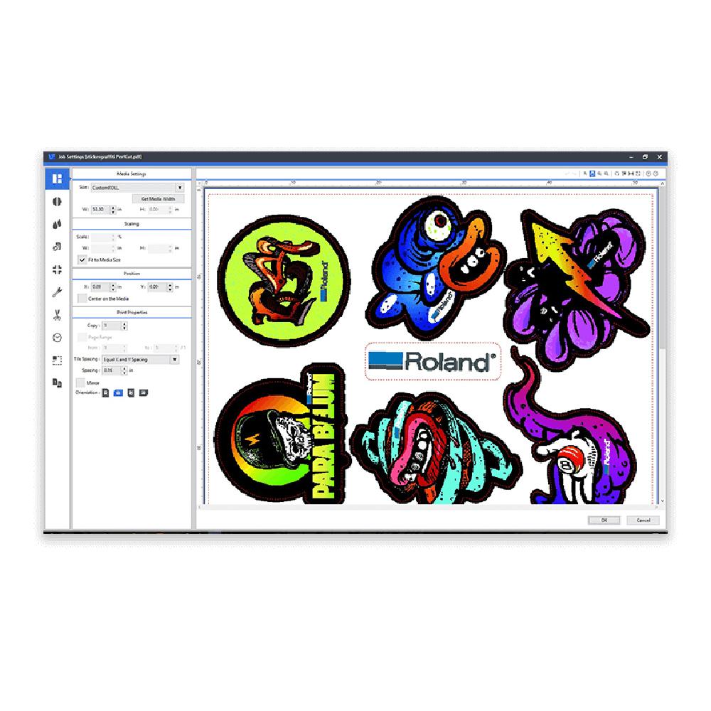 Roland Versa Works RIP Software Screenshot