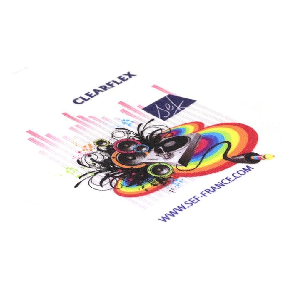 Sef Clear Flex Vinyl
