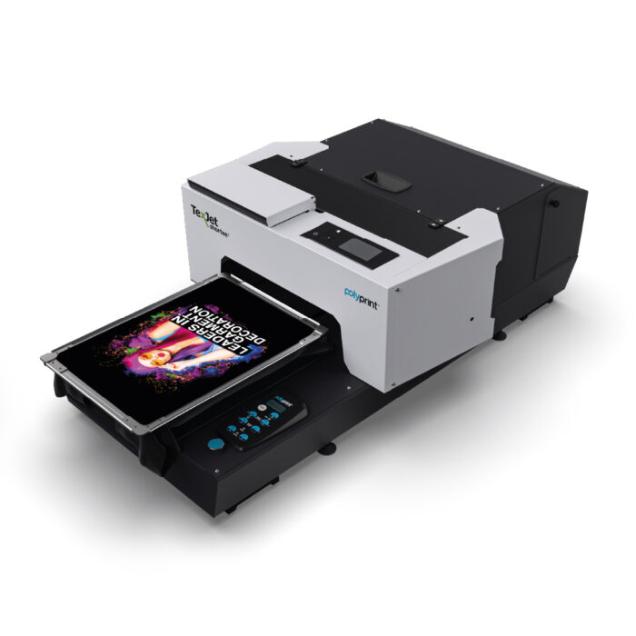 Texjet Shortee2 Direct to Garment Printer with garment