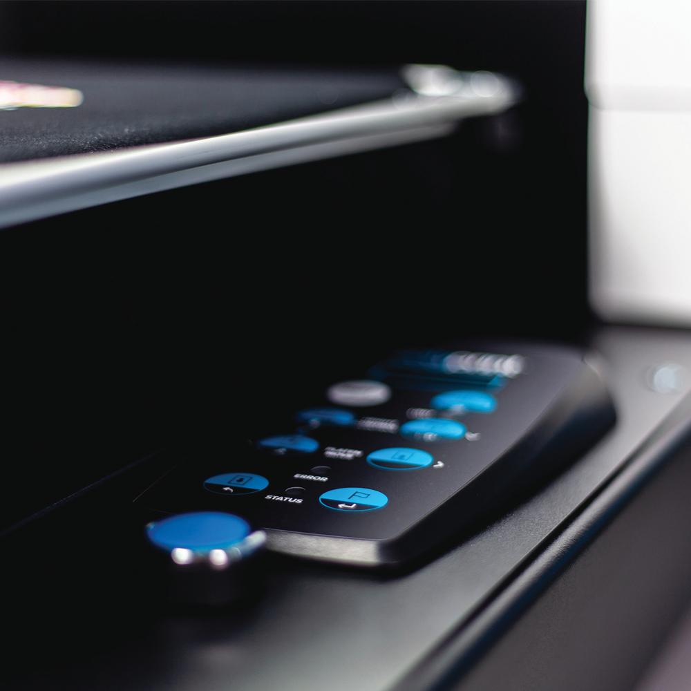 Texjet Echo2 Direct to Garment Printer Button Panel