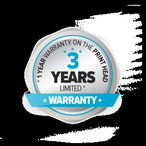3 Years Limited Warranty Logo