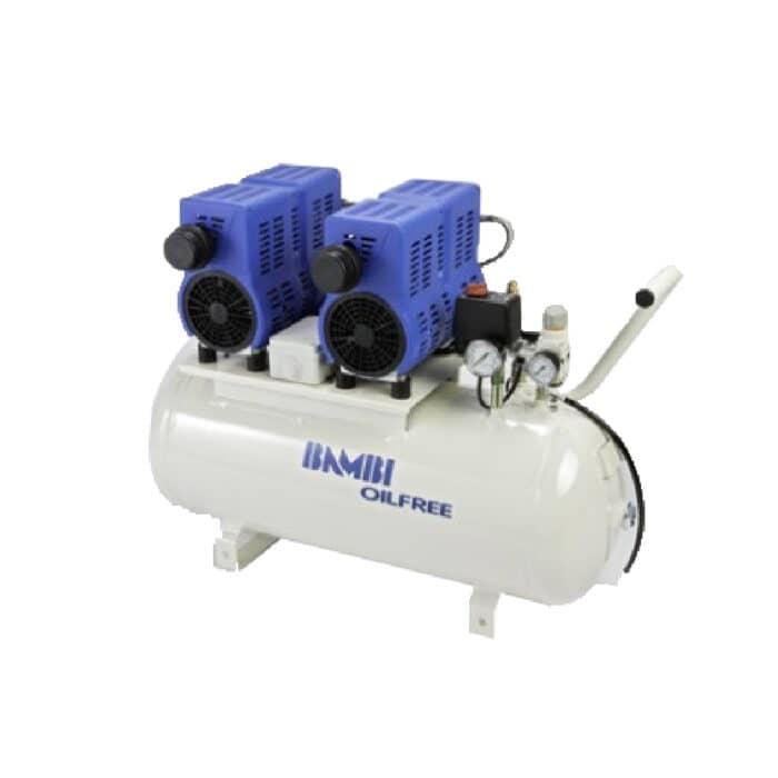 Bambi Oil Free PT50D Compressor