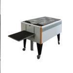 Chiossi Speedy T Folding Machine on white background