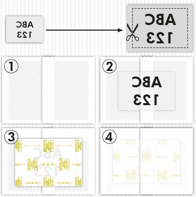 Forever Flex Soft No Cut Diagram Instructions showing steps