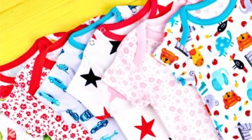 Baby grows for Kornit Childrenswear