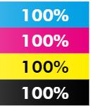 Percentage graphic for Forever Laser Dark Ink Levels