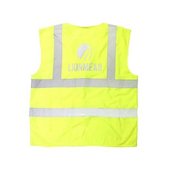 High Vis jacket with design made with Sef Maxxflex Subliblock ll Vinyl