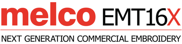 Melco EMT16X Modular Embroidery Machines Logo