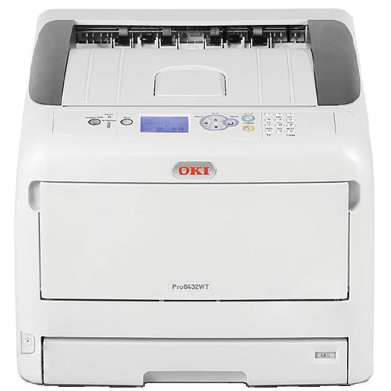OKI Pro8432WT White Toner Printer