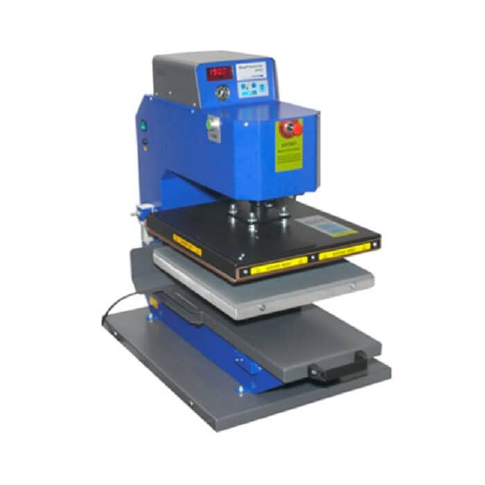 Schulze Pneumatic Blue Heat Press