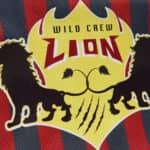 Wild Crew Lion design on sports shirt made with Sef Tatoo SBB Optima
