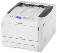OKI PRO 8432WT White Toner Printer with transparent background