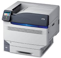 OKI PRO 9541WT White Toner Printer with transparent background