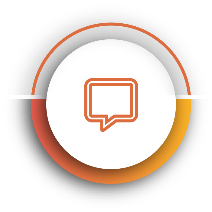 Orange action theme icon for Kornit Roadmap to owning a Kornit