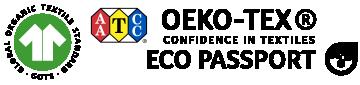 GOTS & OEKO-TEX Eco Passport Certified Ink Standards