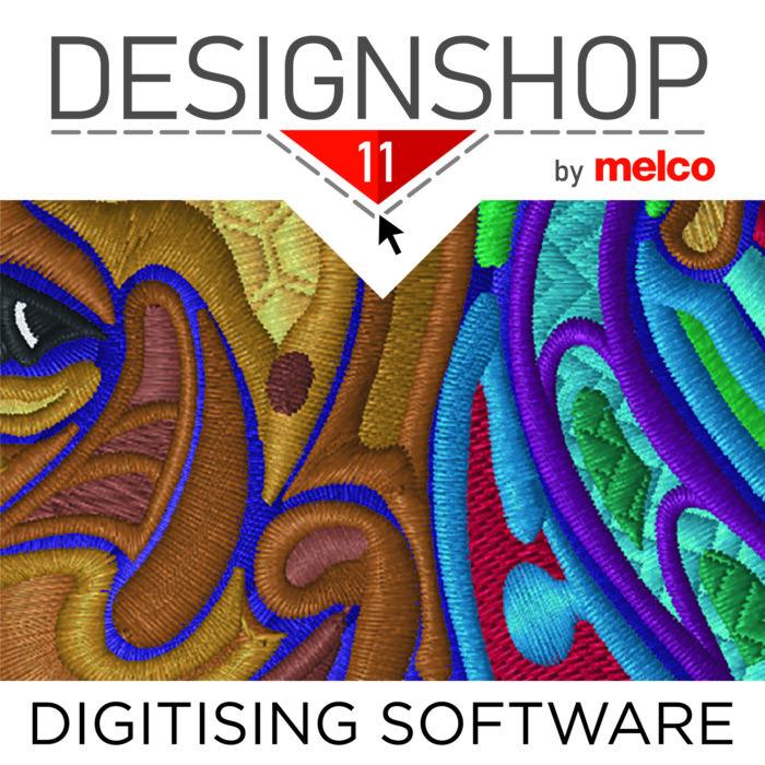 Melco Embroidery Machines Digitising Software Design Shop V11