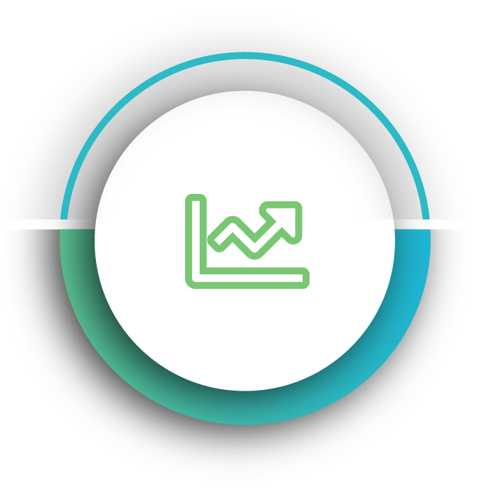 Blue expansion theme icon for Kornit Roadmap to owning a Kornit
