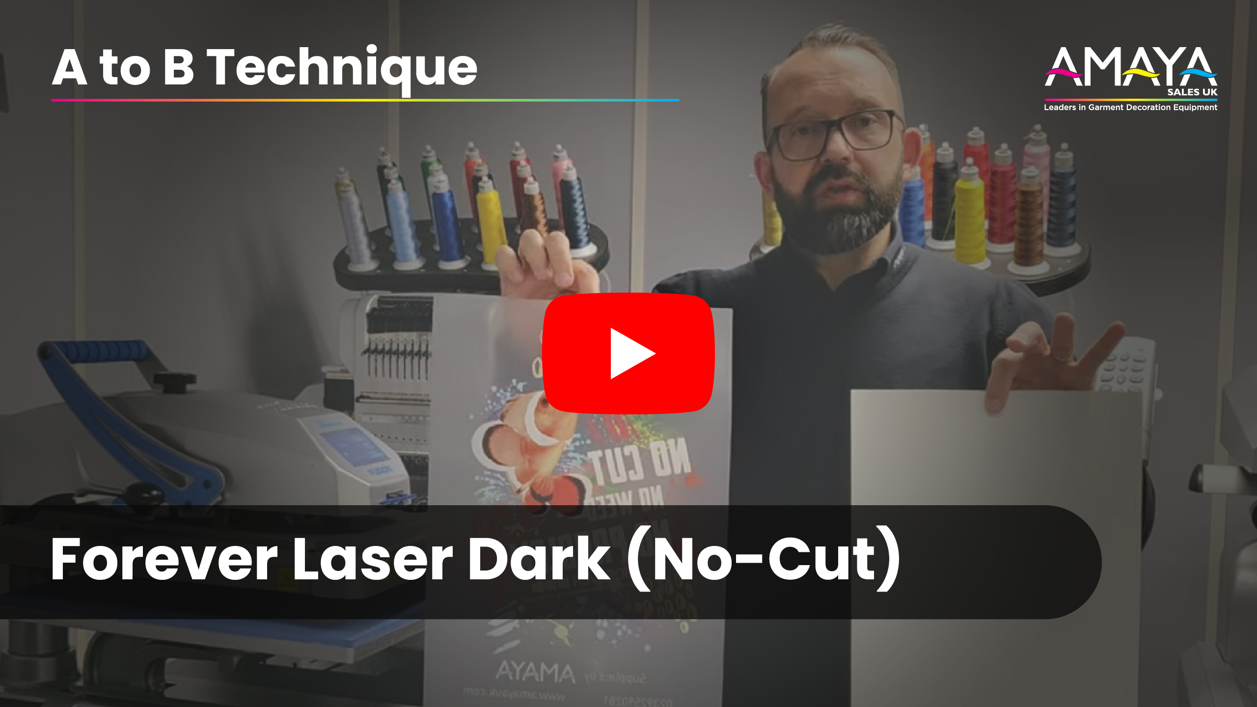 Forever Laser Dark No-Cut - A to B technique
