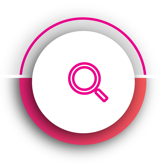 Pink insight theme icon for Kornit Roadmap to owning a Kornit