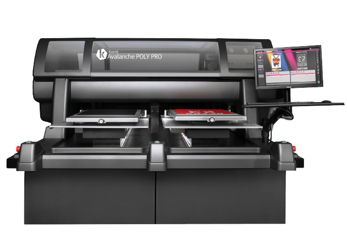 Kornit Avalanche Poly Pro Direct to garment Printer