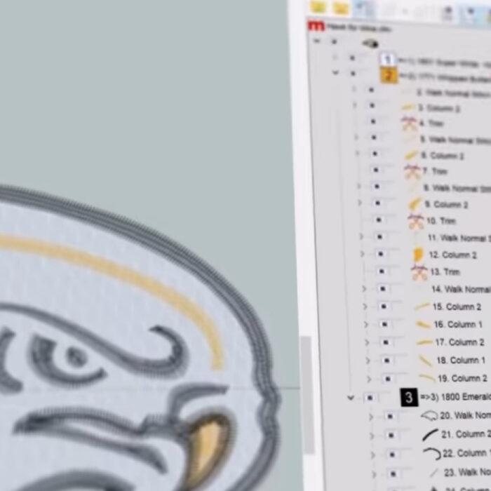 Melco Embroidery Machines Design Shop V11 Software Screenshot