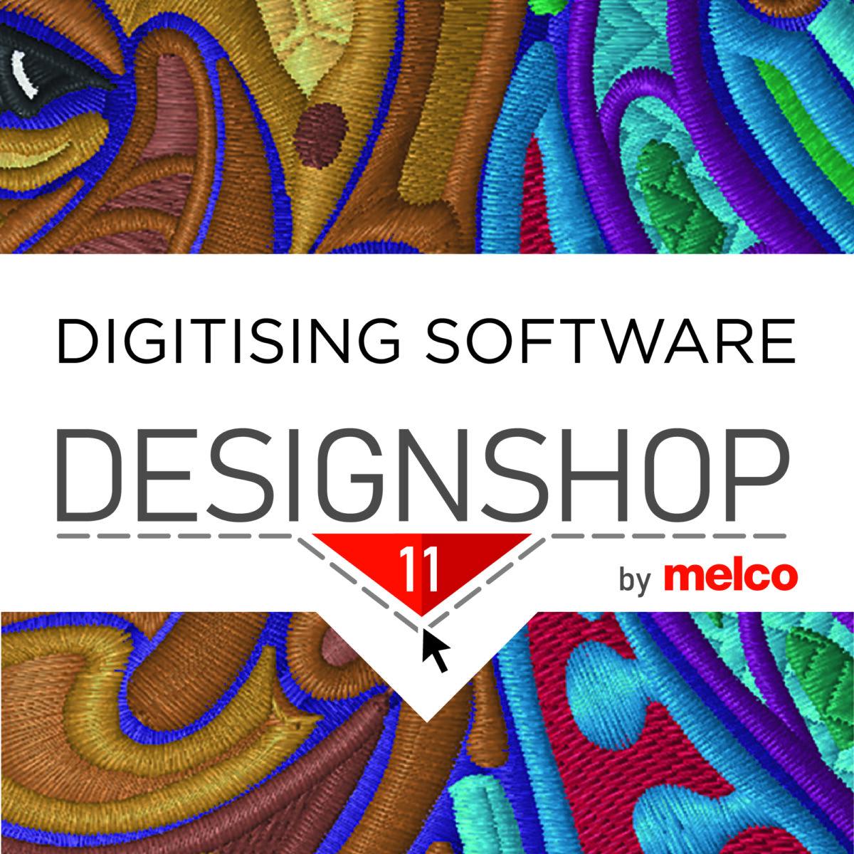 Melco Digitising Software - Design Shop V11