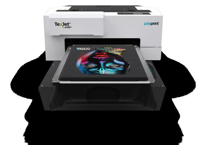 Polyprint Texjet Echo2 DTG Printer - Front Facing