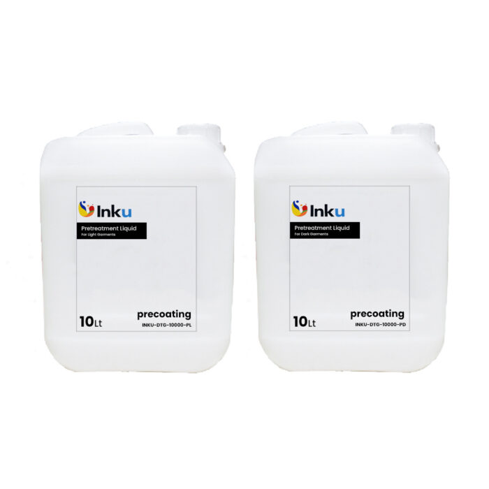 Roland Inku 10lt Pretreatment Liquid for dark garments Bottles