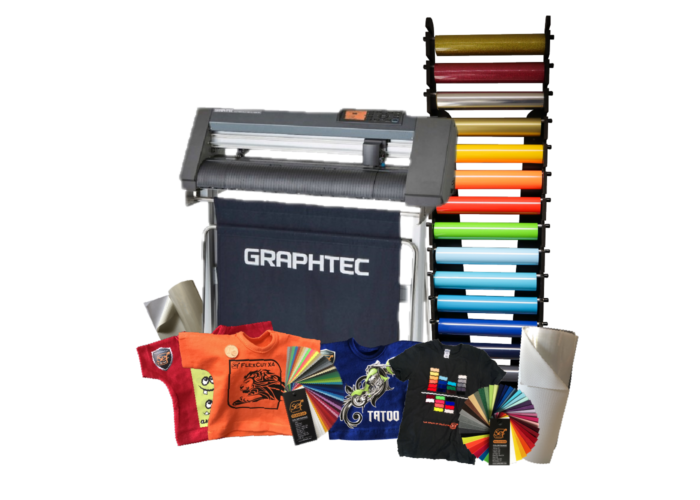 Graphtec and Sef Applications and equipment collage
