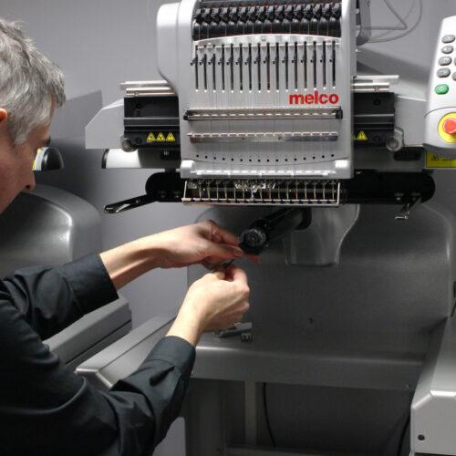 Melco EMT16X Embroidery Machine Maintenance