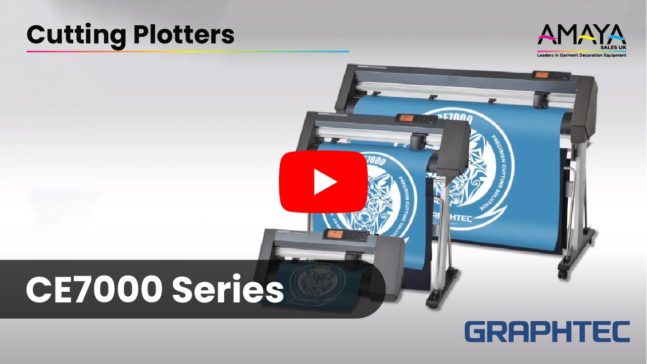 Graphtec CE7000 Series Cutting Plotters Video Thumbnail