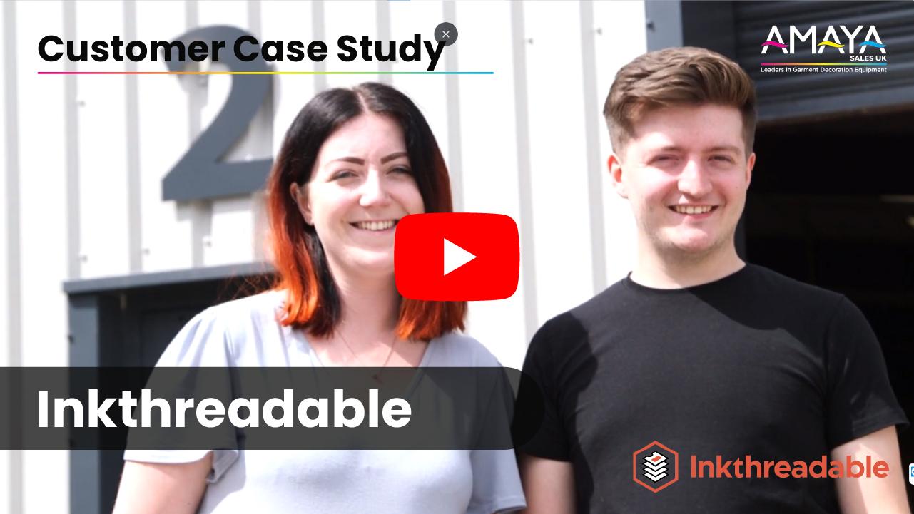 Inkthreadable Customer Case Study Testimonial Video Thumbnail