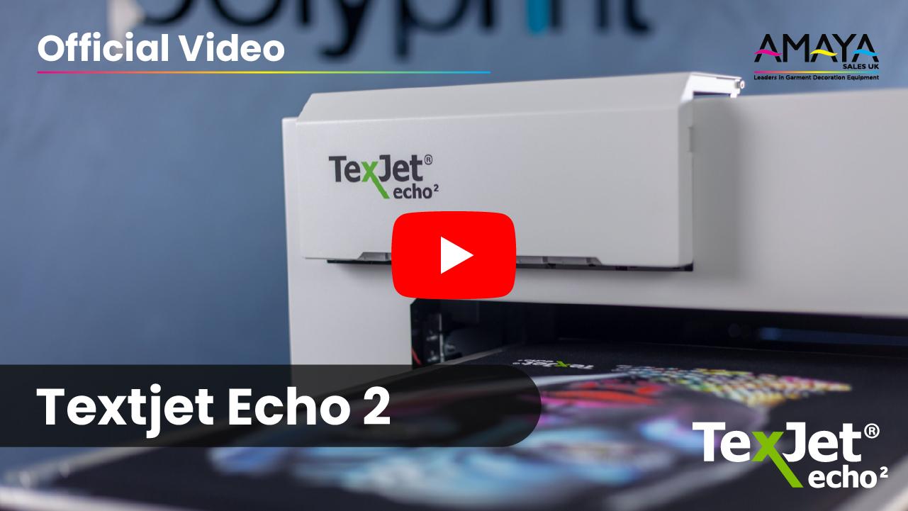 Texjet Echo2 Official Video Thumbnail