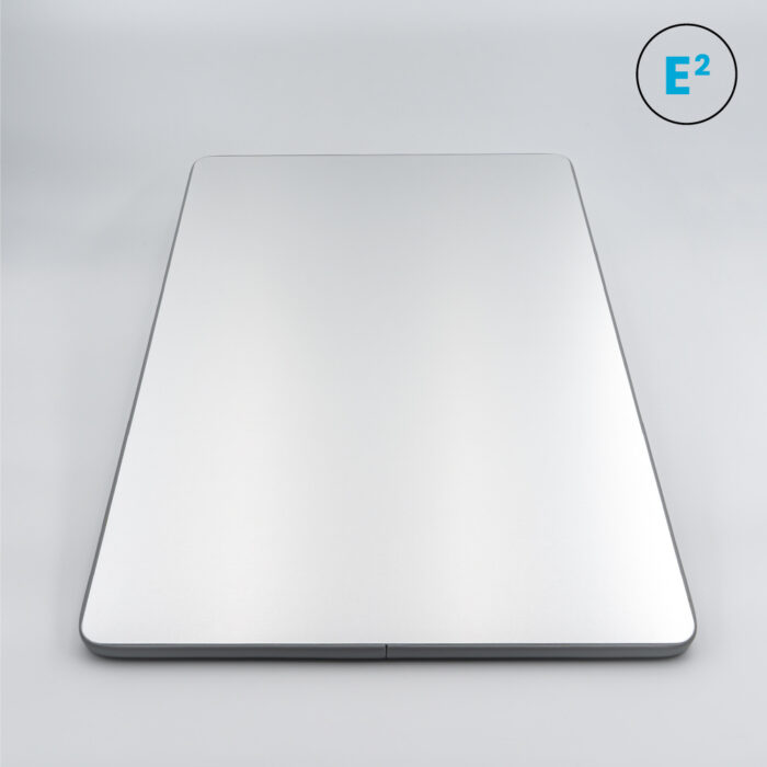 Polyprint Echo2 41x60cm Oversized Platen on grey background with Icons
