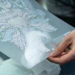 Applying DTF Xpress Adhesive Powder
