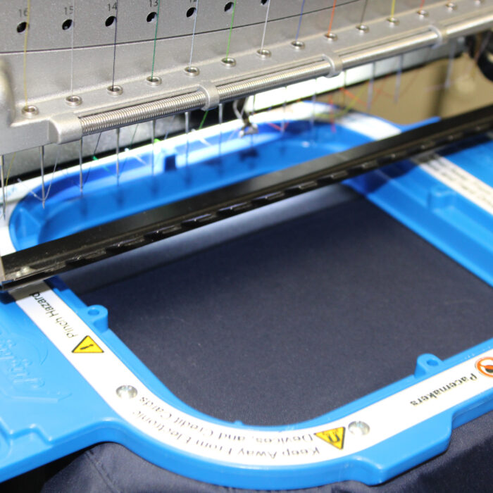 """Melco EMT16X Embroidery Machine with 5.5"""" Mighty Hoop"""