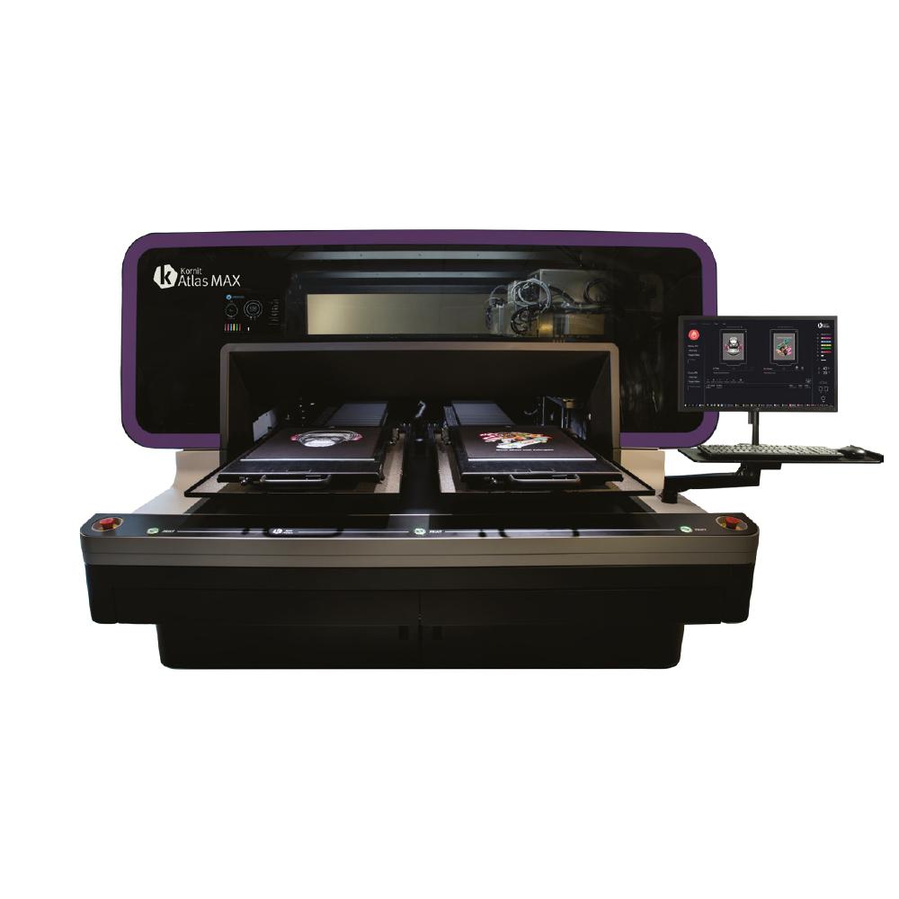 Kornit Atlas Max Direct To Garment Printer