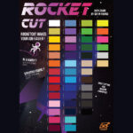 Rocket Cut Vinyl Colour Chart