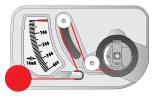 Adjusting Bobbin Diagram Warning