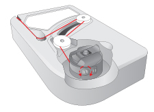 Adjusting Bobbin Tension Diagram
