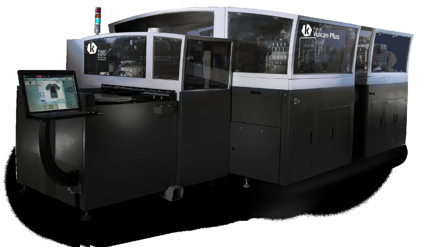 Kornit Vulcan Plus Direct To Garment Printer