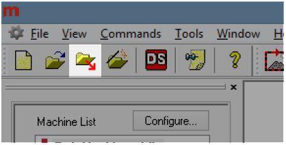 melco loading the design Screen