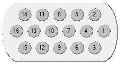 setting the colour sequence screen melco