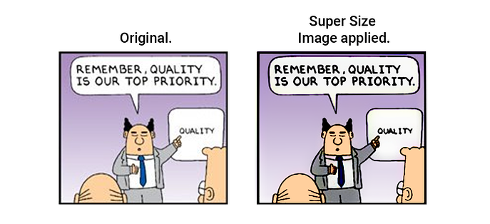 Digital Factory supersize image tool