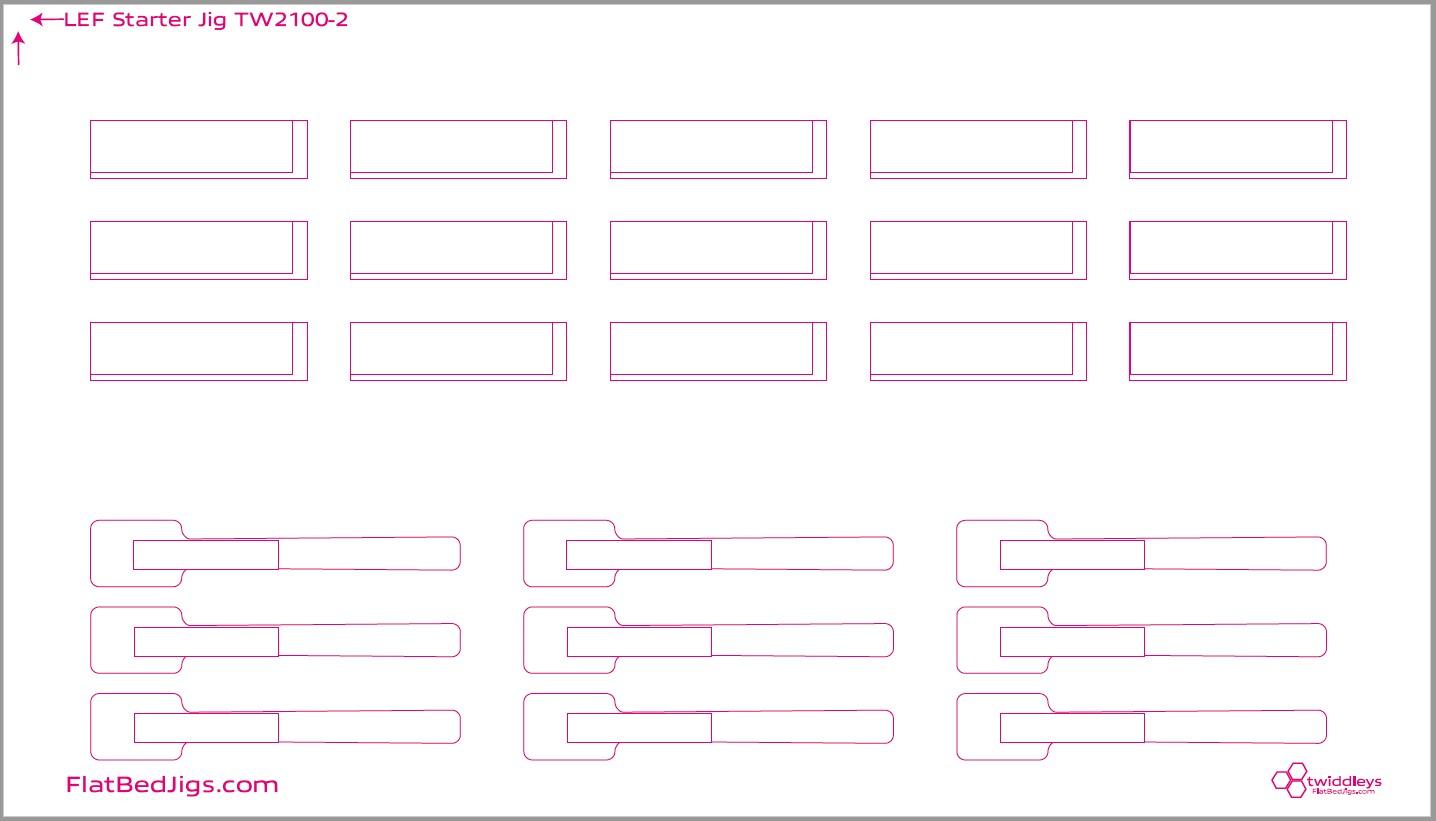 LEF-200 Starter JIG Print File