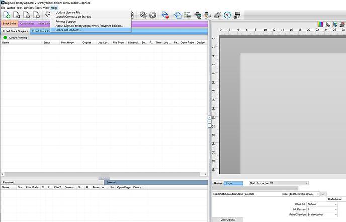 Polyprint Digital Factory Updating Software Step