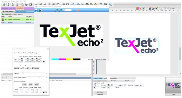Polyprint Job Colour Replacement Screen