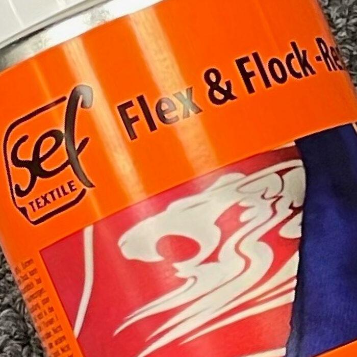 SEF Flex & Flock Remover Can Close Up