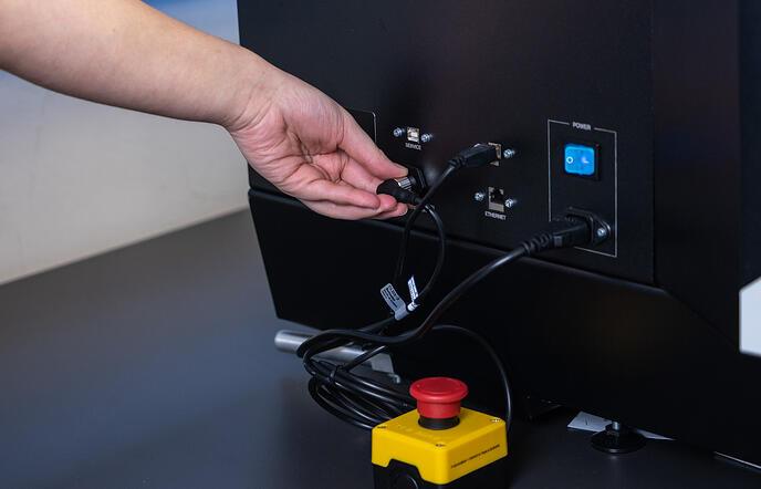 Texjet Echo 2 Emergency Stop Button